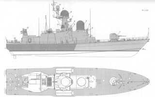 Ракетный катер пр. 12417 – 1 (1)